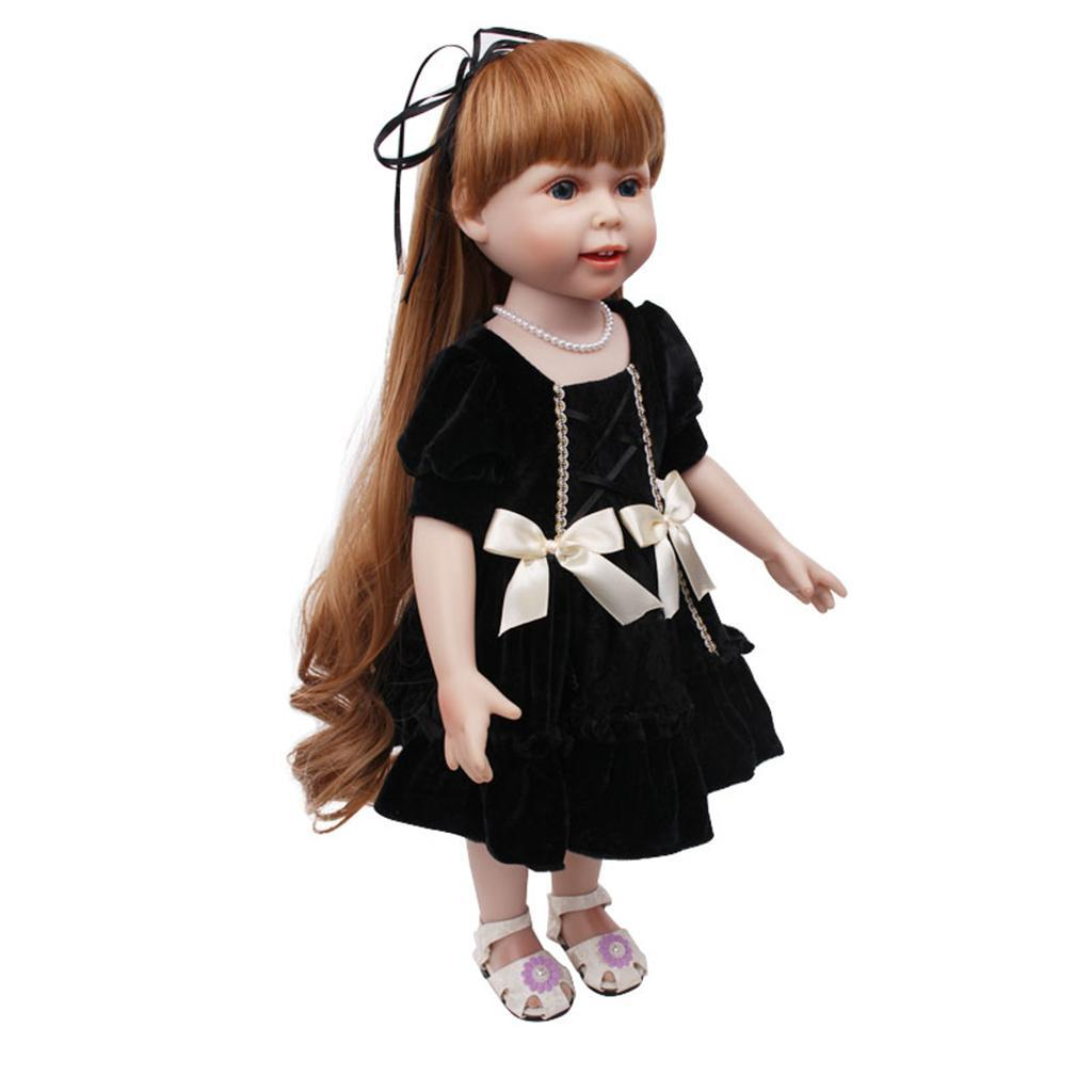 Charming-Summer-Pleated-Skirt-for-AG-American-Doll-18inch-Doll-Dress-Up-Accs miniature 3