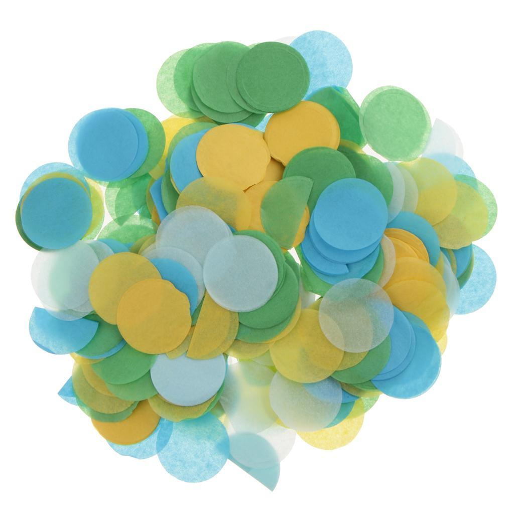 30g-Round-Tissue-Paper-Throwing-Confetti-Party-Balloon-Confetti-Wedding-Decor miniature 10