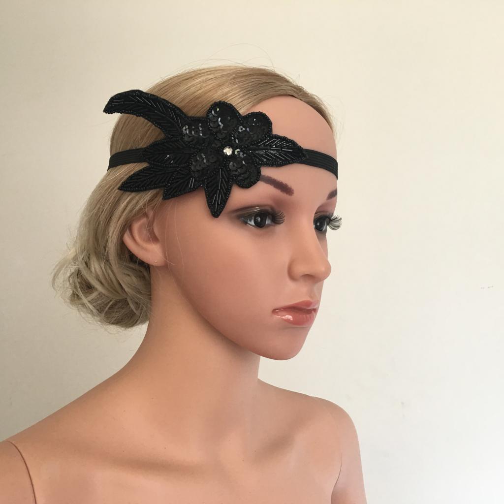 Bandeau-Cheveux-Serre-tete-Femme-Accessoire-de-Cheveux-Fantasie-Decor miniature 15