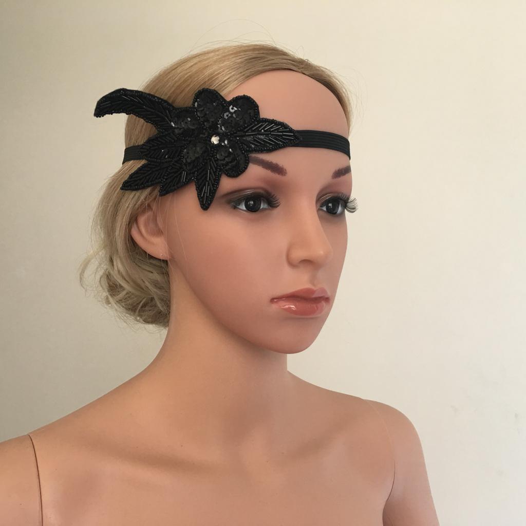 Bandeau-Cheveux-Serre-tete-Femme-Accessoire-de-Cheveux-Fantasie-Decor miniature 16