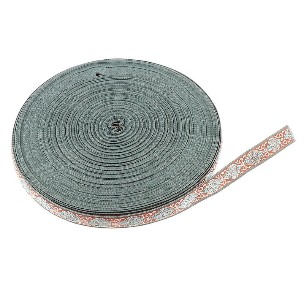 50-Yard-Ethnic-Tassel-Trim-Embroidery-Fringe-Ribbon-DIY-Sewing-Curtain-Skirt thumbnail 11