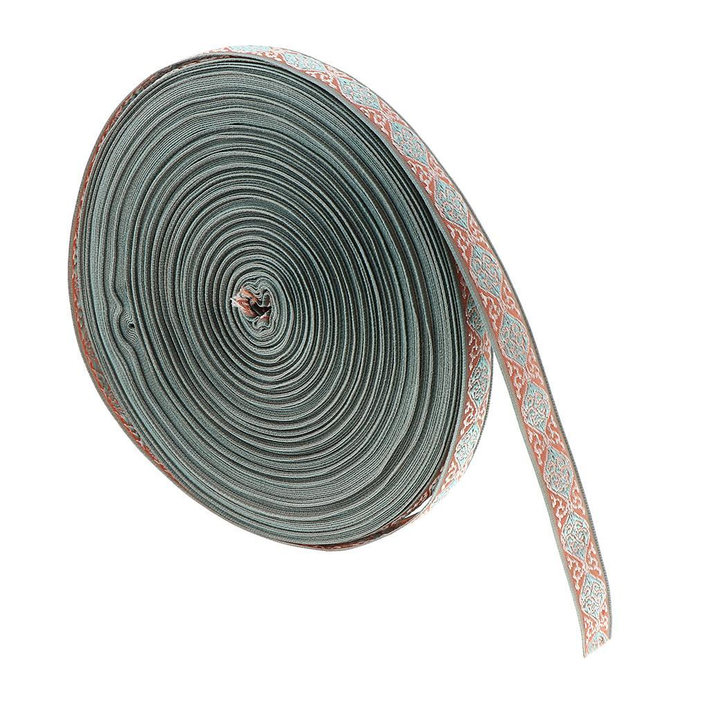 50-Yard-Ethnic-Tassel-Trim-Embroidery-Fringe-Ribbon-DIY-Sewing-Curtain-Skirt thumbnail 12