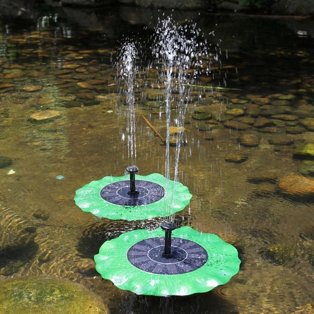 Irrigazione pompa solare laghetto acqua fontana cortile for Fontana per laghetto