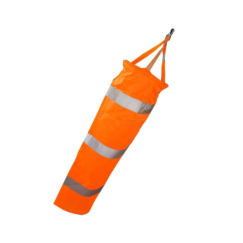 Airport-Windsock-Wind-Cone-60-80-100cm-Outside-Wind-Sock-w-Reflective-Belts thumbnail 12
