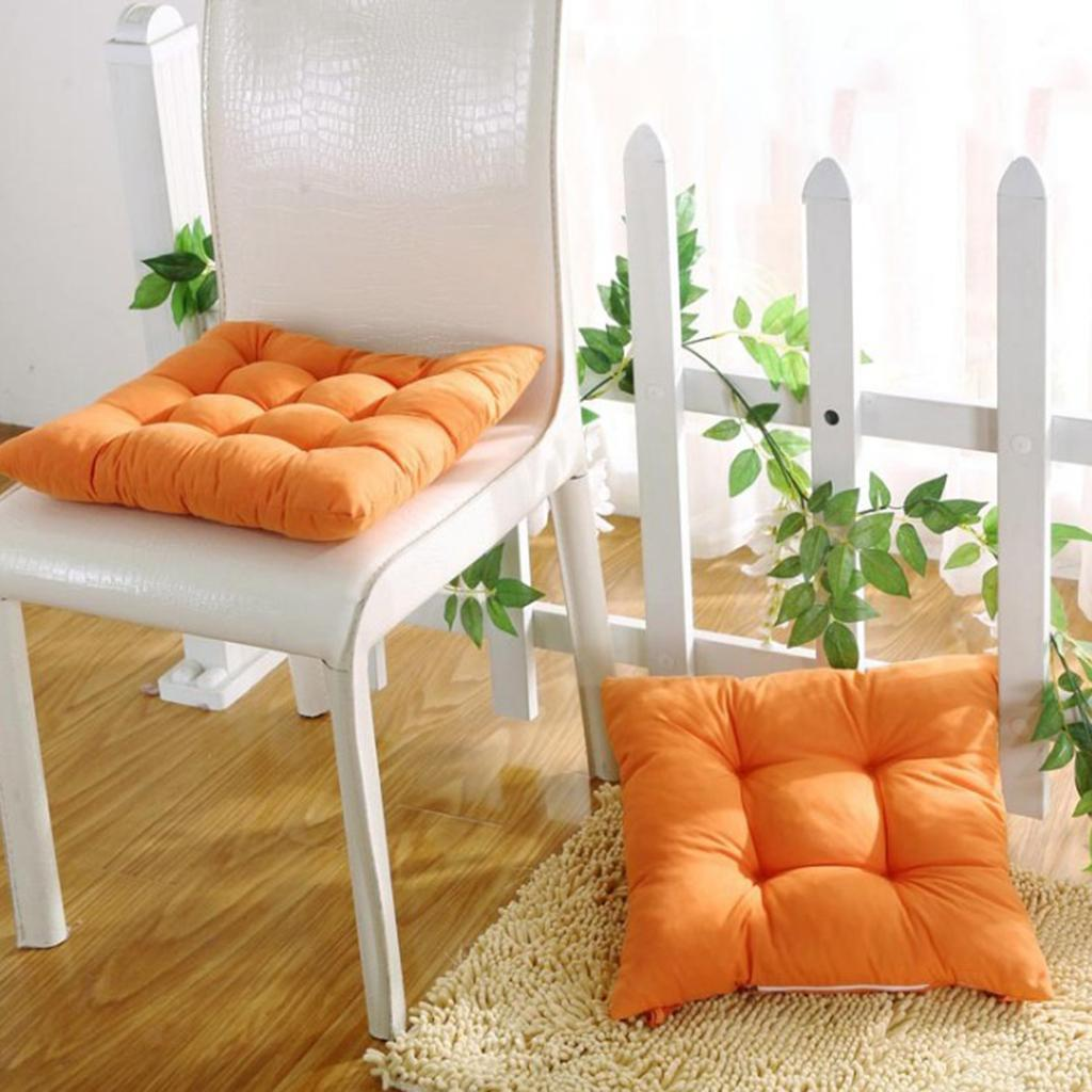 thumbnail 4 - Chair-Pad-Cushion16x16-034-for-Home-Dinning-Chair-Indoor-Outdoor-Seat-Chair-Pad