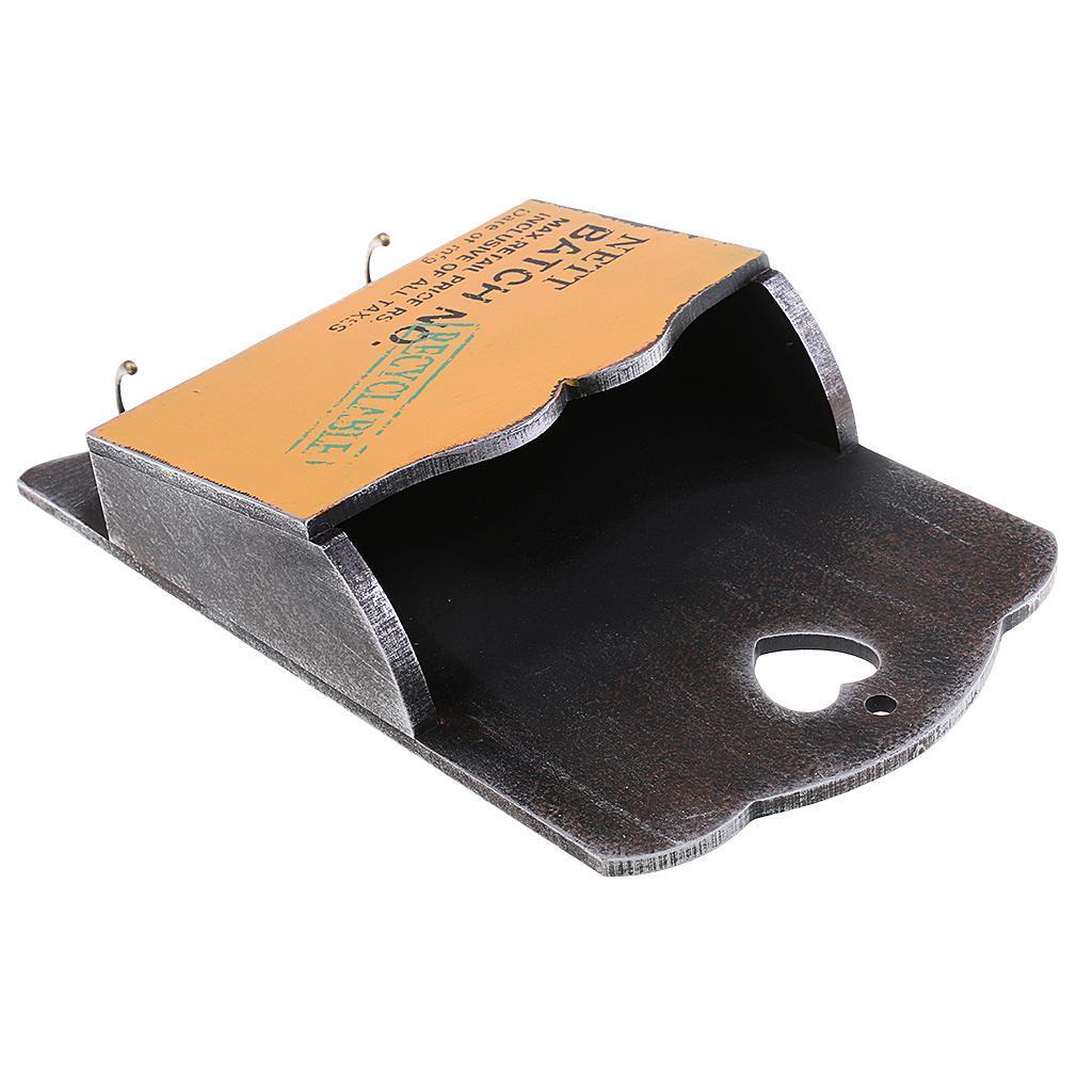 Cassetta-Portaoggetti-Su-Parete-Porta-Lettere-Scatolina-Portachiavi miniatura 6