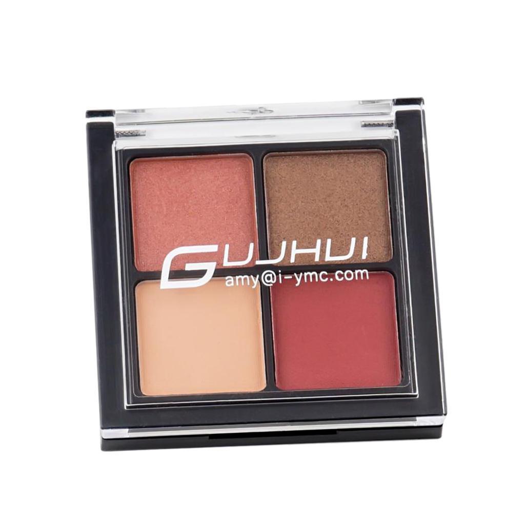 4-Colors-Cosmetic-Matt-Eyeshadow-Cream-Eye-Shadow-Makeup-Palette-Shimmer-Set thumbnail 7