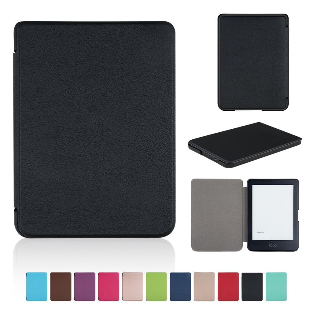 ULTRA-SOTTILE-PELLE-SMART-SLIM-COVER-STAND-CASE-PER-Kobo-Clara-6-034-eReader miniatura 13