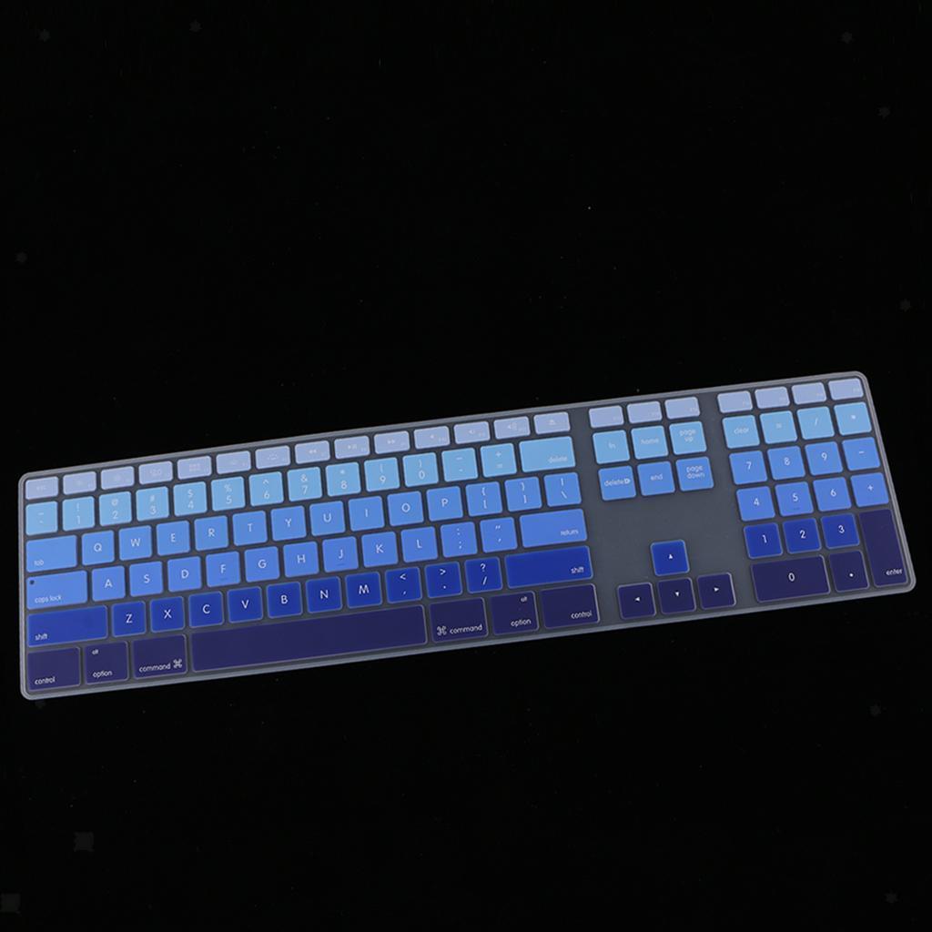 Ultra-Thin-Keyboard-Skin-Cover-For-Apple-IMac-G6-MB110LL-B-MB110LL-A-A1243 thumbnail 9