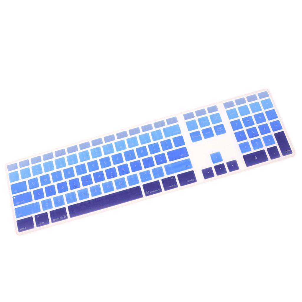 Soft-Silicone-Keyboard-Cover-Skin-for-iMac-G6-A1243-with-Numeric-Keypad thumbnail 9
