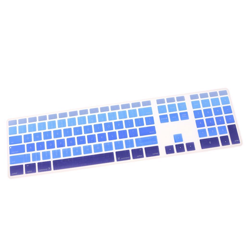 Soft-Silicone-Keyboard-Cover-Skin-for-iMac-G6-A1243-with-Numeric-Keypad thumbnail 10