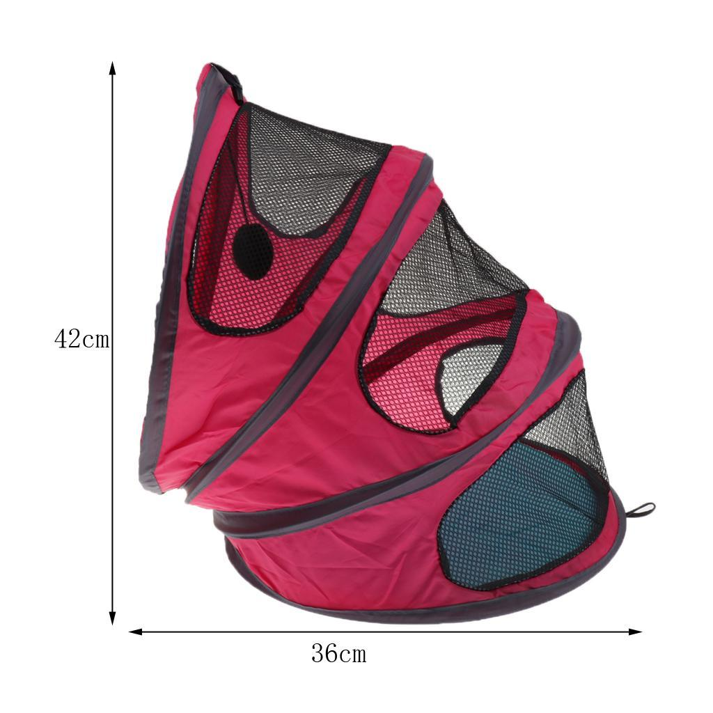 Cat-Kitten-Dog-Puppy-Tent-Bed-Portable-Foldable-For-Outdoor-Indoor-Use thumbnail 3