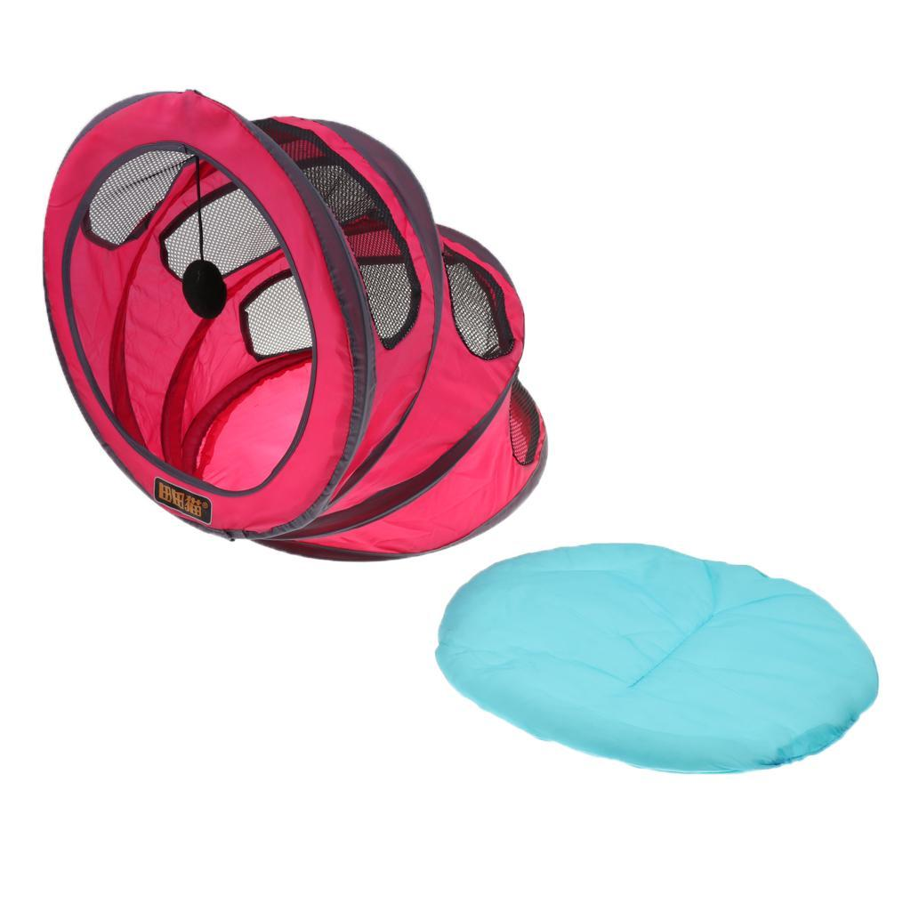 Cat-Kitten-Dog-Puppy-Tent-Bed-Portable-Foldable-For-Outdoor-Indoor-Use thumbnail 4