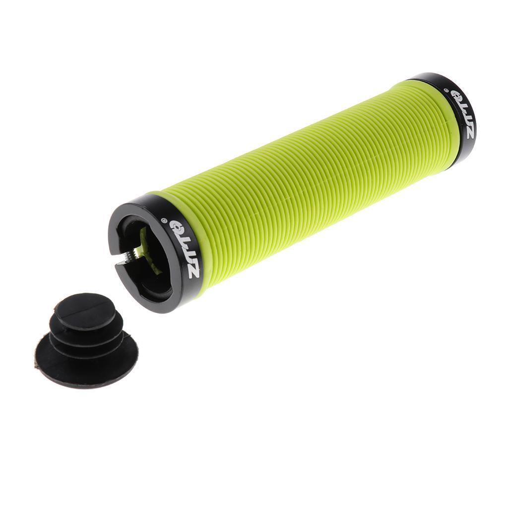 Anti-slip-Gel-Bicycle-Handlebar-Grips-MTB-BMX-Fixed-Gear-Bike-Double-Lock-on thumbnail 18