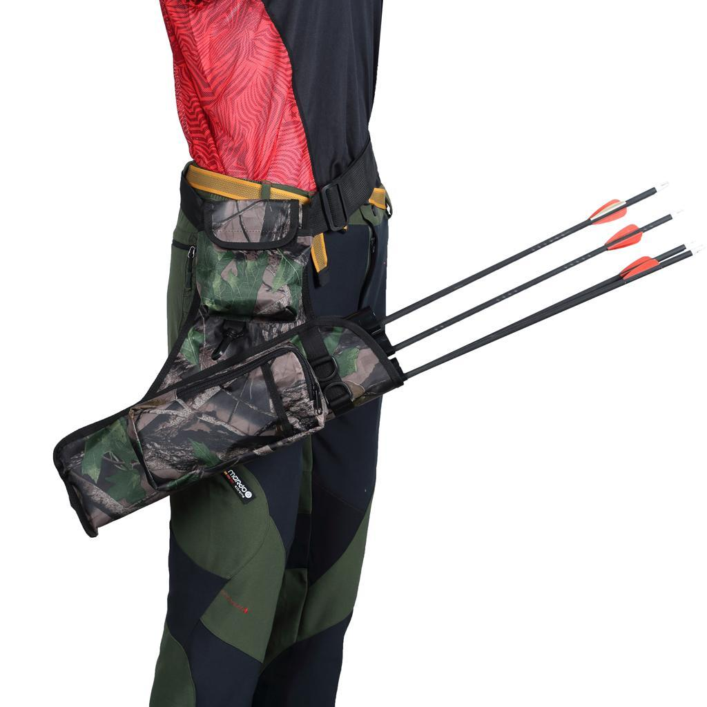 Archery-4-Tube-Camo-Arrow-Quiver-Holder-Belt-Waist-Bow-Hunting thumbnail 21