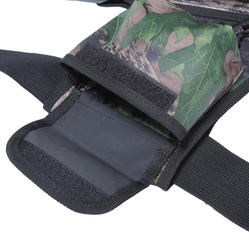 Archery-4-Tube-Camo-Arrow-Quiver-Holder-Belt-Waist-Bow-Hunting thumbnail 22