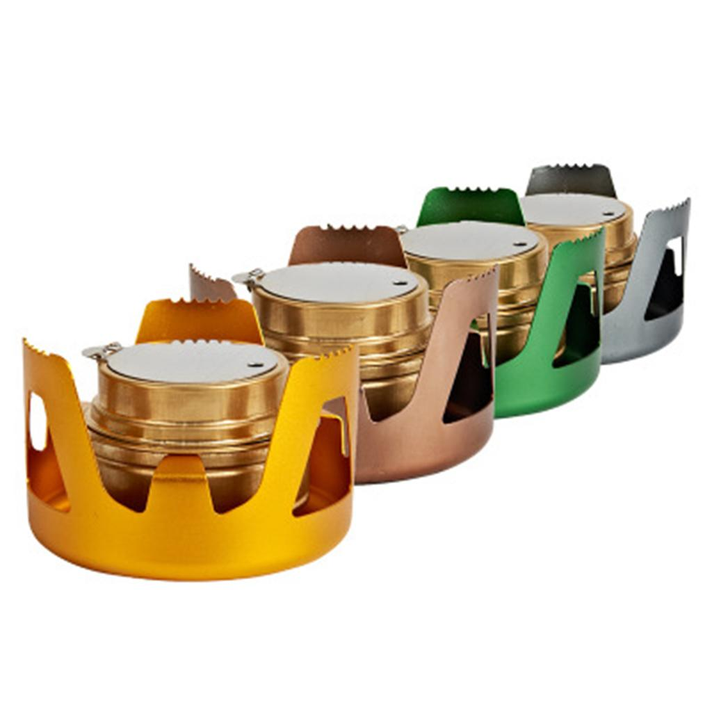 Alcohol Stove Stand//Spirit Burner Base Rack Bracket Pot Stand Alloy Gold