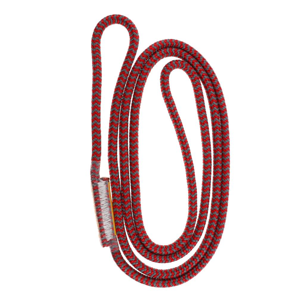 25KN 8mm Prusik Rope Loop Climbing Heat Resistant Friction Hitch Cord 100cm
