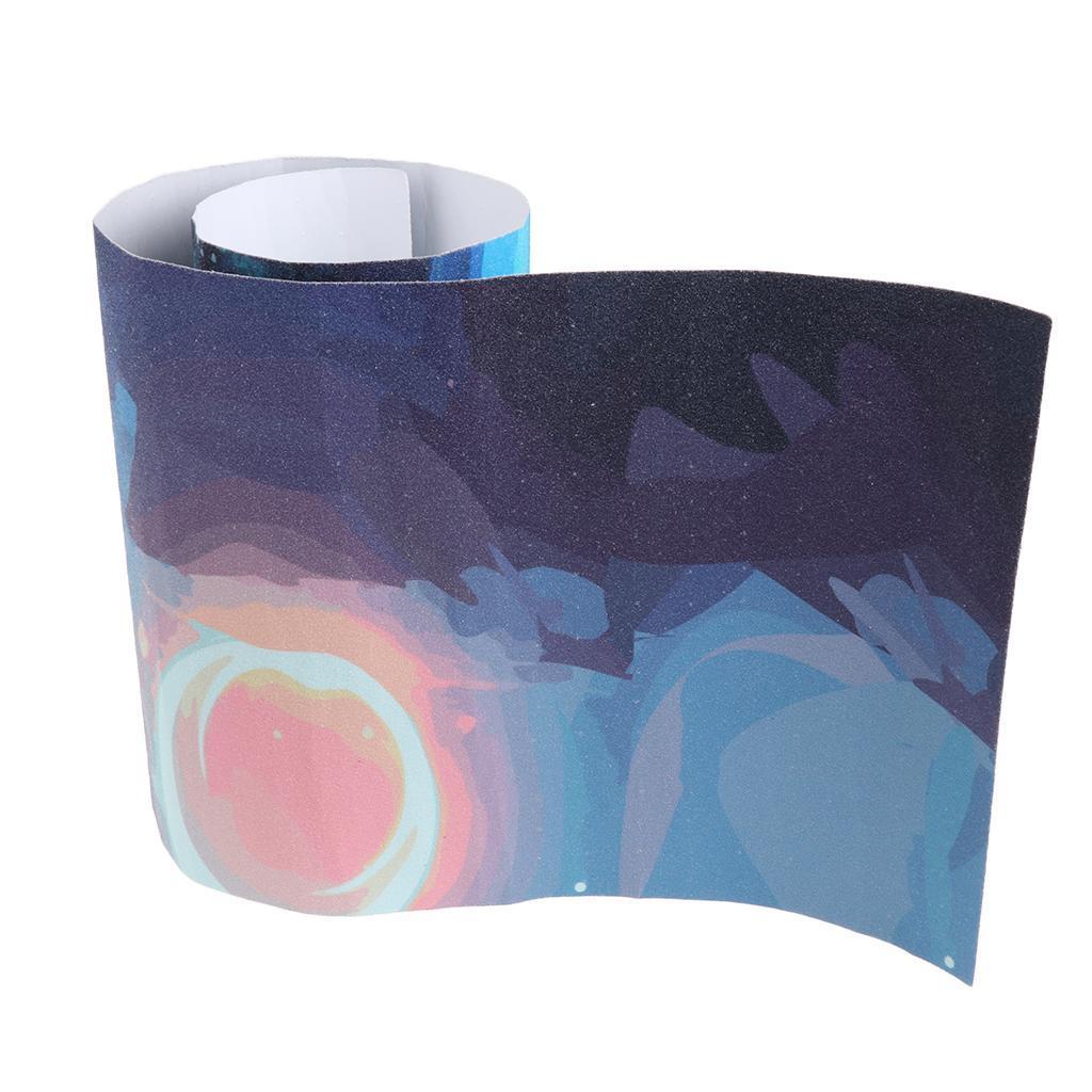 Tape-Grip-di-Skateboard-Impermeabile-Antiscivolo-Professionale-Deck-a-Carta miniatura 18