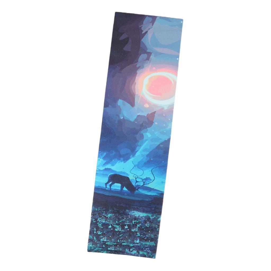 Tape-Grip-di-Skateboard-Impermeabile-Antiscivolo-Professionale-Deck-a-Carta miniatura 20
