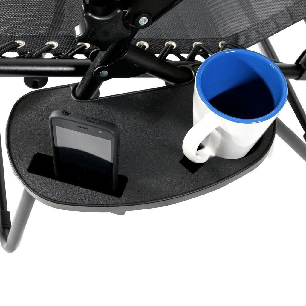 Cup Holder for  Chair Large Utility Clip On Chair Table Tray 2#