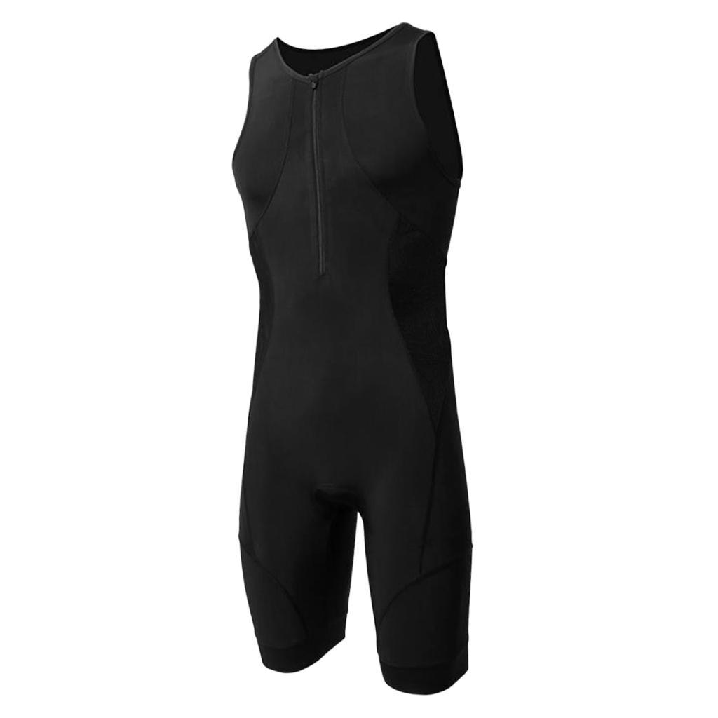 Men-039-s-Performance-Tri-Race-Suit-Race-for-Triathlon-Swimming-Running-Cycling thumbnail 9