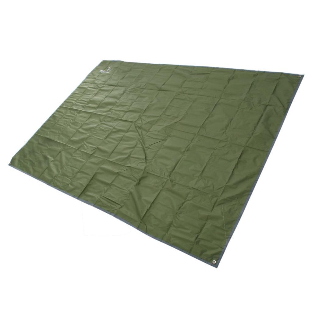 Tenda-impermeabile-Tarp-Footprint-Camping-Ground-Sheet-per-escursionismo miniatura 7