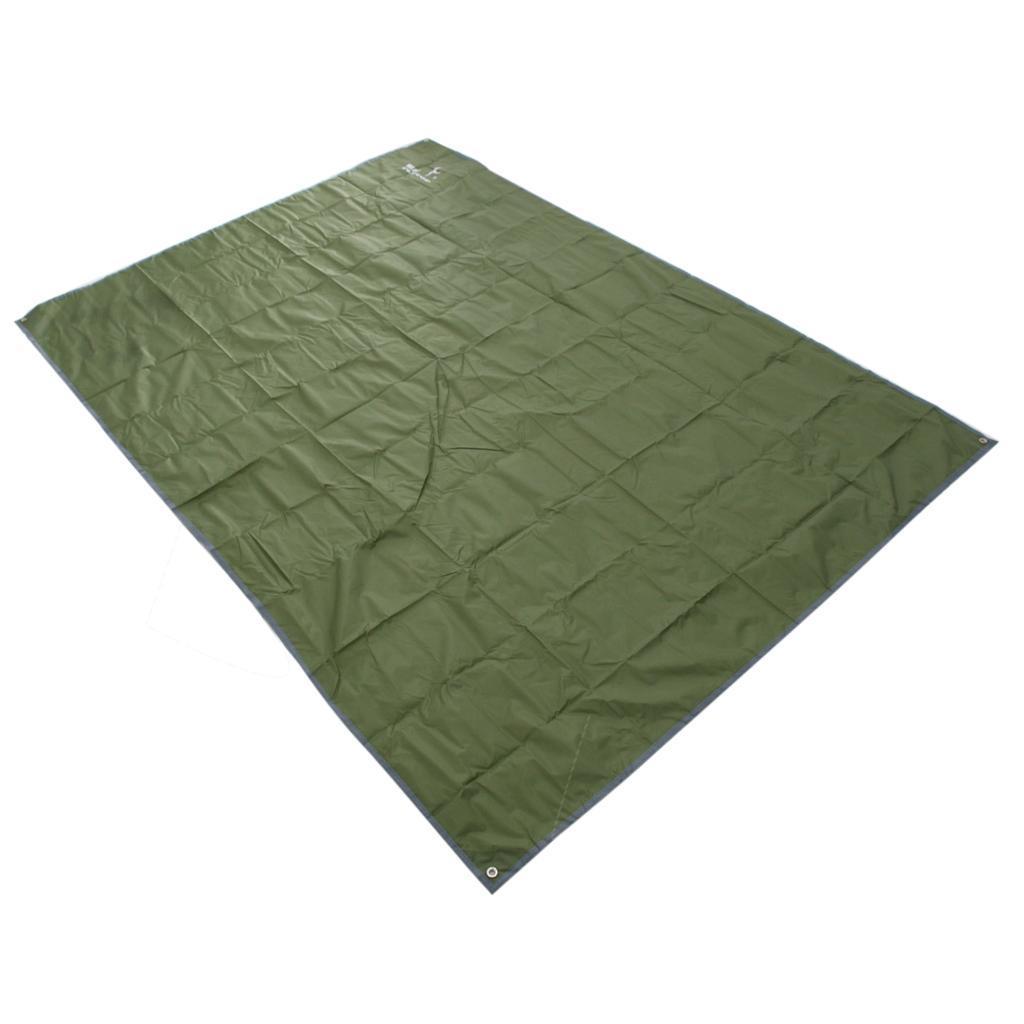 Tenda-impermeabile-Tarp-Footprint-Camping-Ground-Sheet-per-escursionismo miniatura 8