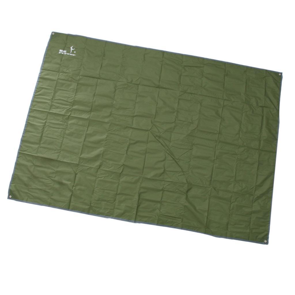 Tenda-impermeabile-Tarp-Footprint-Camping-Ground-Sheet-per-escursionismo miniatura 9