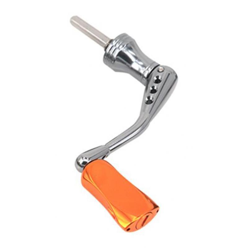 Fishing Reel Handle Knob Fold Metal Rocker Arm Spinning Reel Handle Replacement