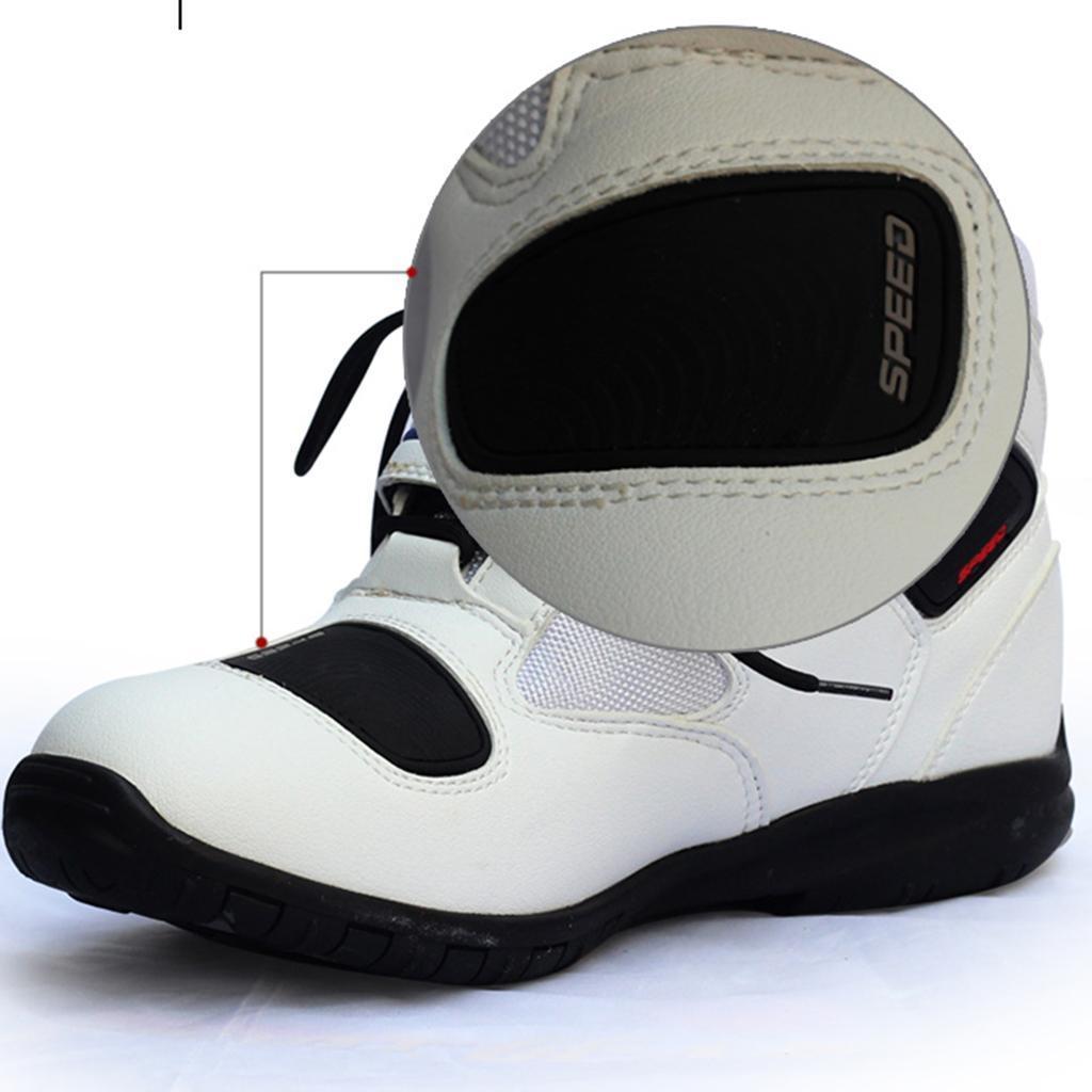 paio-di-scarpe-sportive-da-corsa-per-moto-da-corsa-impermeabili miniature 12