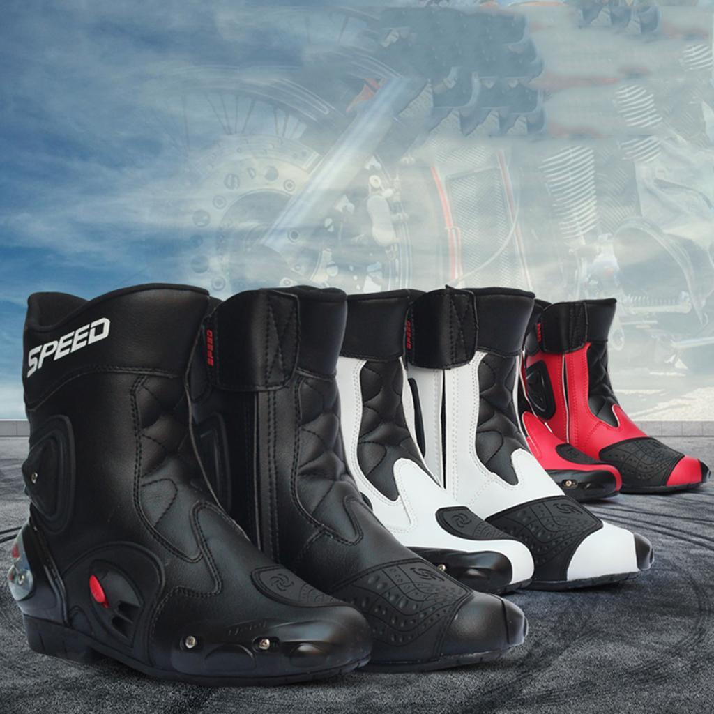 Bottes-de-Moto-Mode-Touring-Chaussures-d-039-Equitation miniature 25