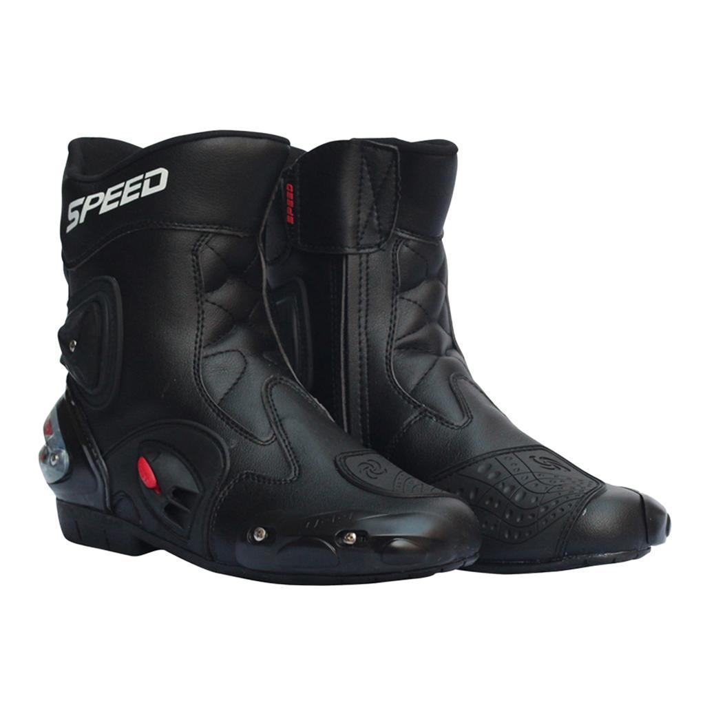 Bottes-de-Moto-Mode-Touring-Chaussures-d-039-Equitation miniature 26