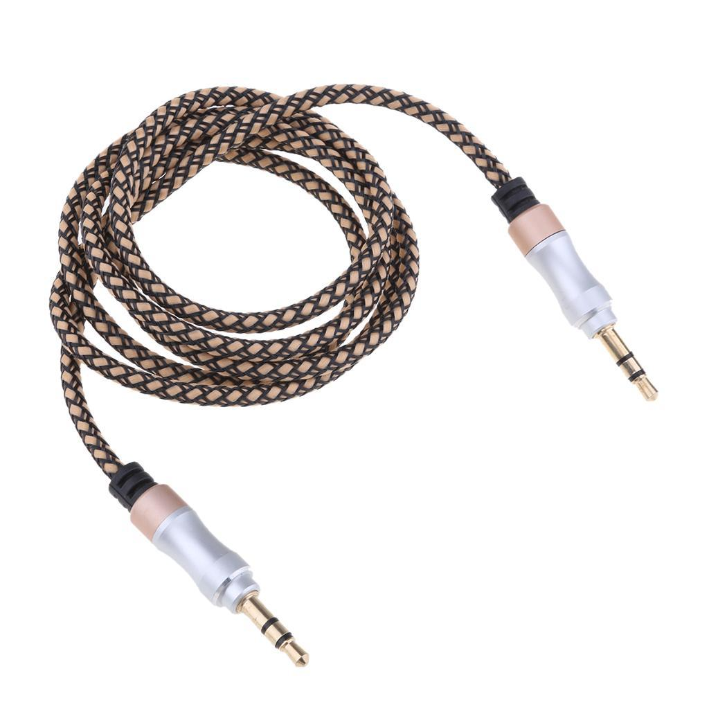 3-5mm-Mini-Jack-Male-vers-Male-Audio-Stereo-Casque-Extension-Rallonge miniature 10