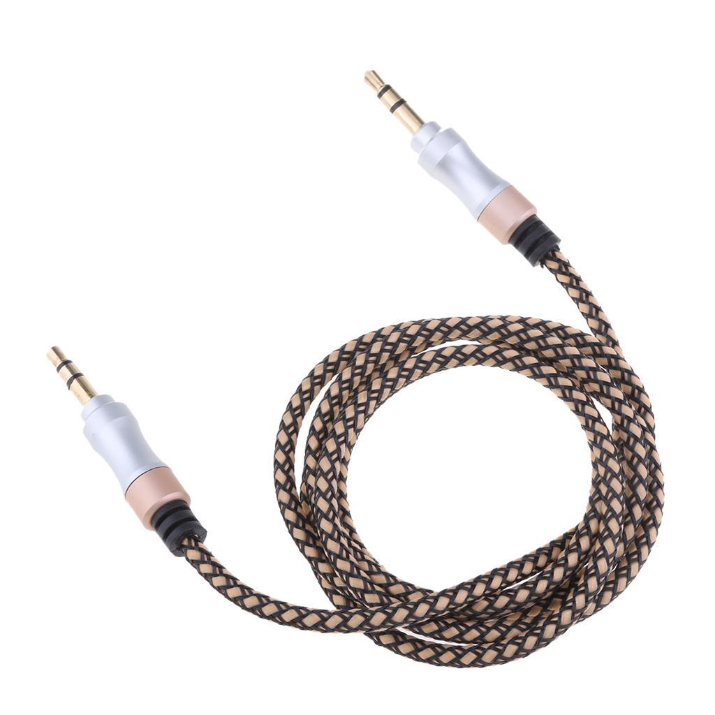 3-5mm-Mini-Jack-Male-vers-Male-Audio-Stereo-Casque-Extension-Rallonge miniature 11