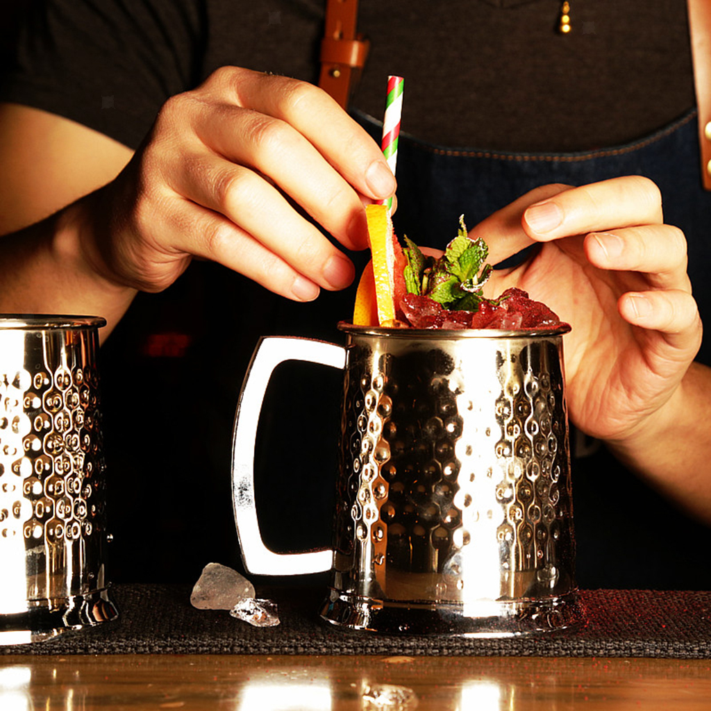 18oz-Cold-Drinkware-Moscow-Mule-Mugs-Coffee-Cup-Hand-Crafted-BPA-FREE thumbnail 7