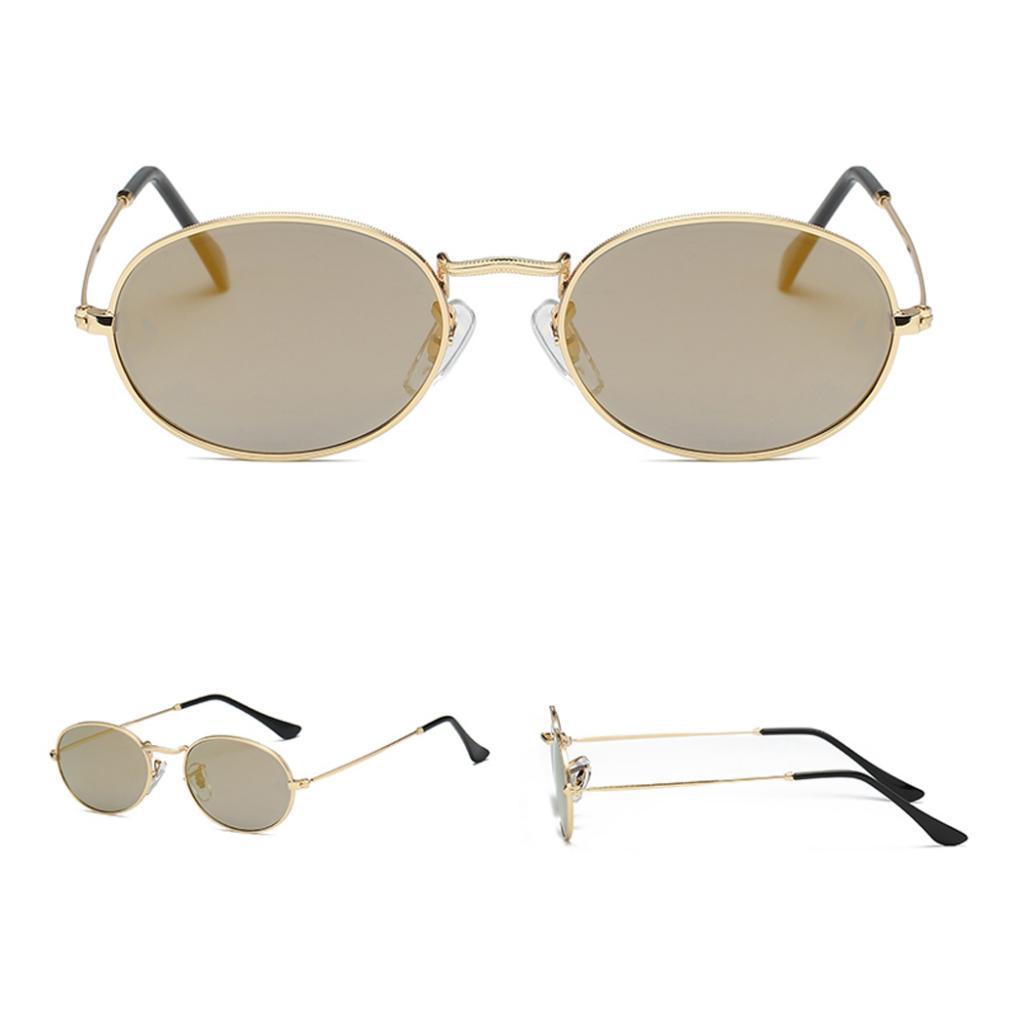 Vintage-Round-Frame-Womens-Men-039-s-Retro-Mirror-Sunglasses-Eyewear-Fashion-Glasses thumbnail 9