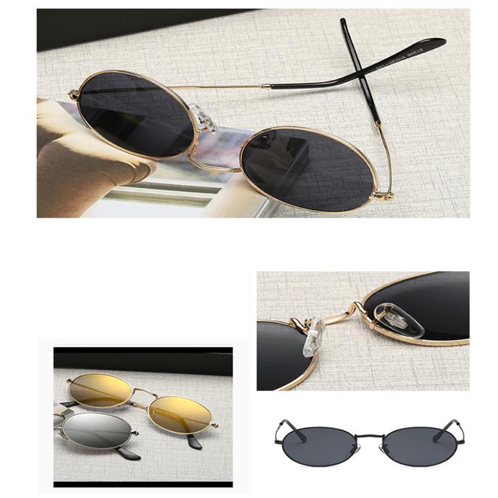 Vintage-Round-Frame-Womens-Men-039-s-Retro-Mirror-Sunglasses-Eyewear-Fashion-Glasses thumbnail 11