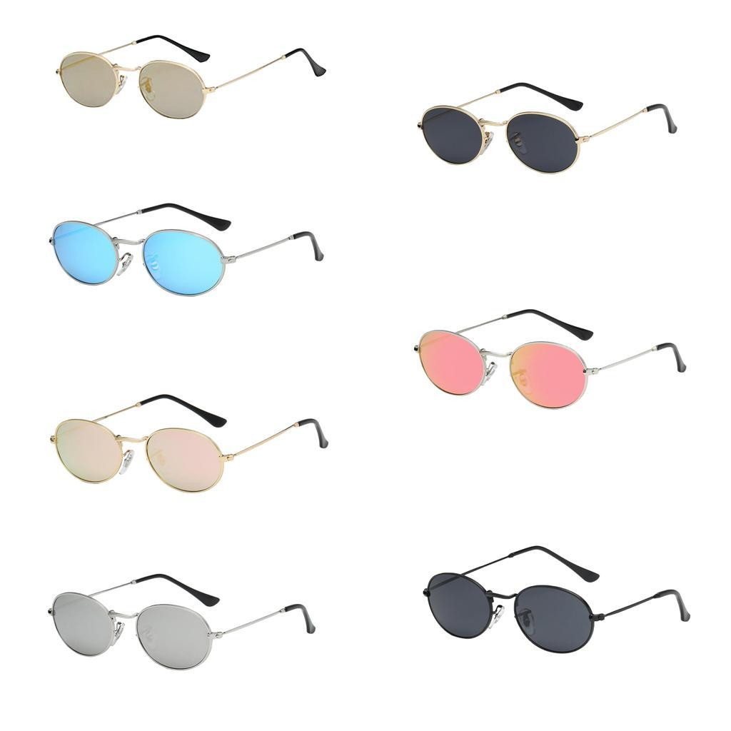 Vintage-Round-Frame-Womens-Men-039-s-Retro-Mirror-Sunglasses-Eyewear-Fashion-Glasses thumbnail 13