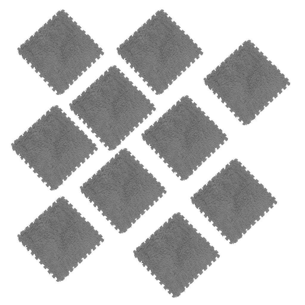 10Pcs-Foam-Children-Soft-Play-Exercise-Mats-Safe-Interlocking-Puzzle-Tiles thumbnail 9