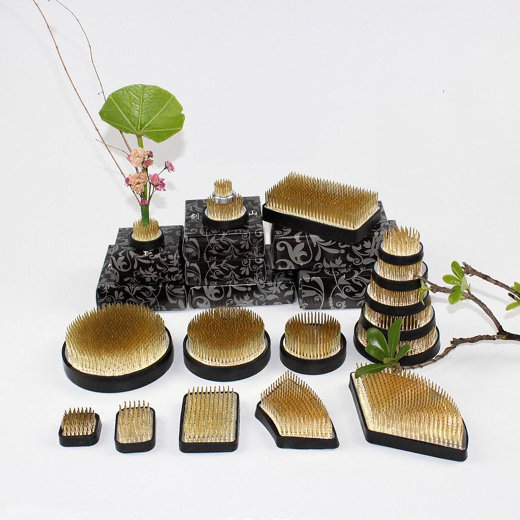 Ikebana-Kenzan-Spiky-Flower-Frog-Plant-Arranging-Fixed-Tool-Flower-Hobby thumbnail 12