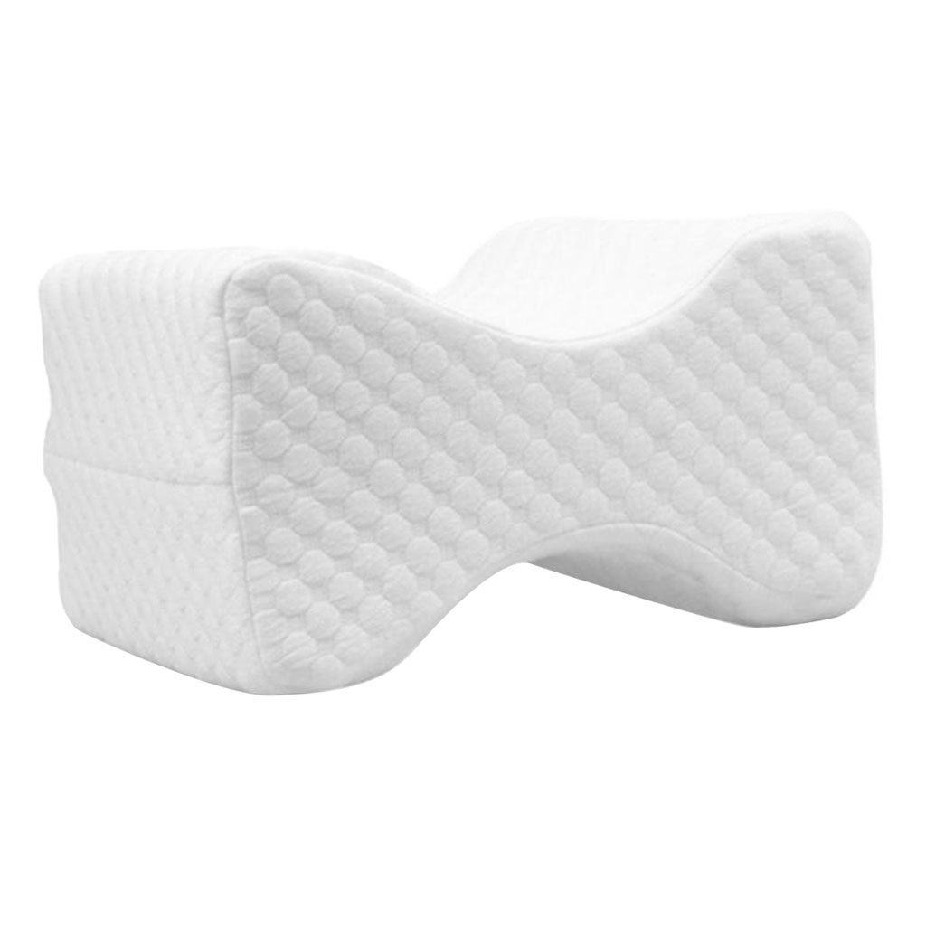Memory-Foam-Leg-Pillow-with-Cover-Orthopaedic-Firm-Back-Hips-Knee-Support thumbnail 7