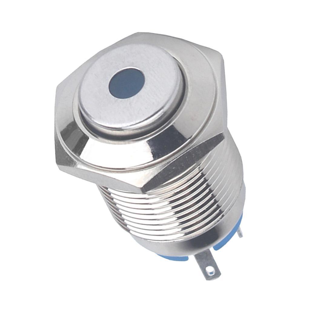 12V-Luz-Indicadora-de-Metal-Lampara-para-Senal-de-Giro-Proyecto-de-Bricolaje miniatura 3