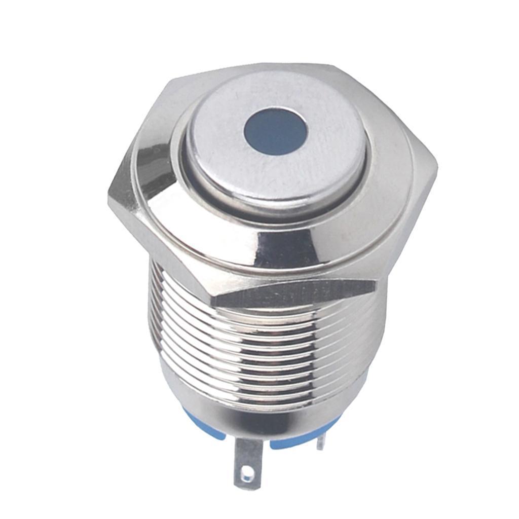 12V-Luz-Indicadora-de-Metal-Lampara-para-Senal-de-Giro-Proyecto-de-Bricolaje miniatura 4