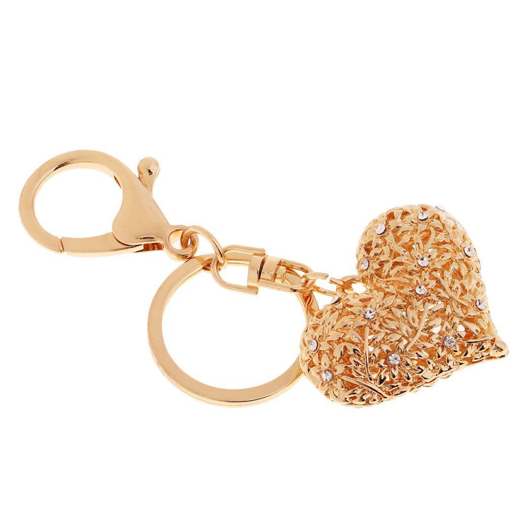Alloy-Fashion-Flamingo-Rhinestone-Keyring-Bag-Hanging-Decor-Women-Keychain thumbnail 9