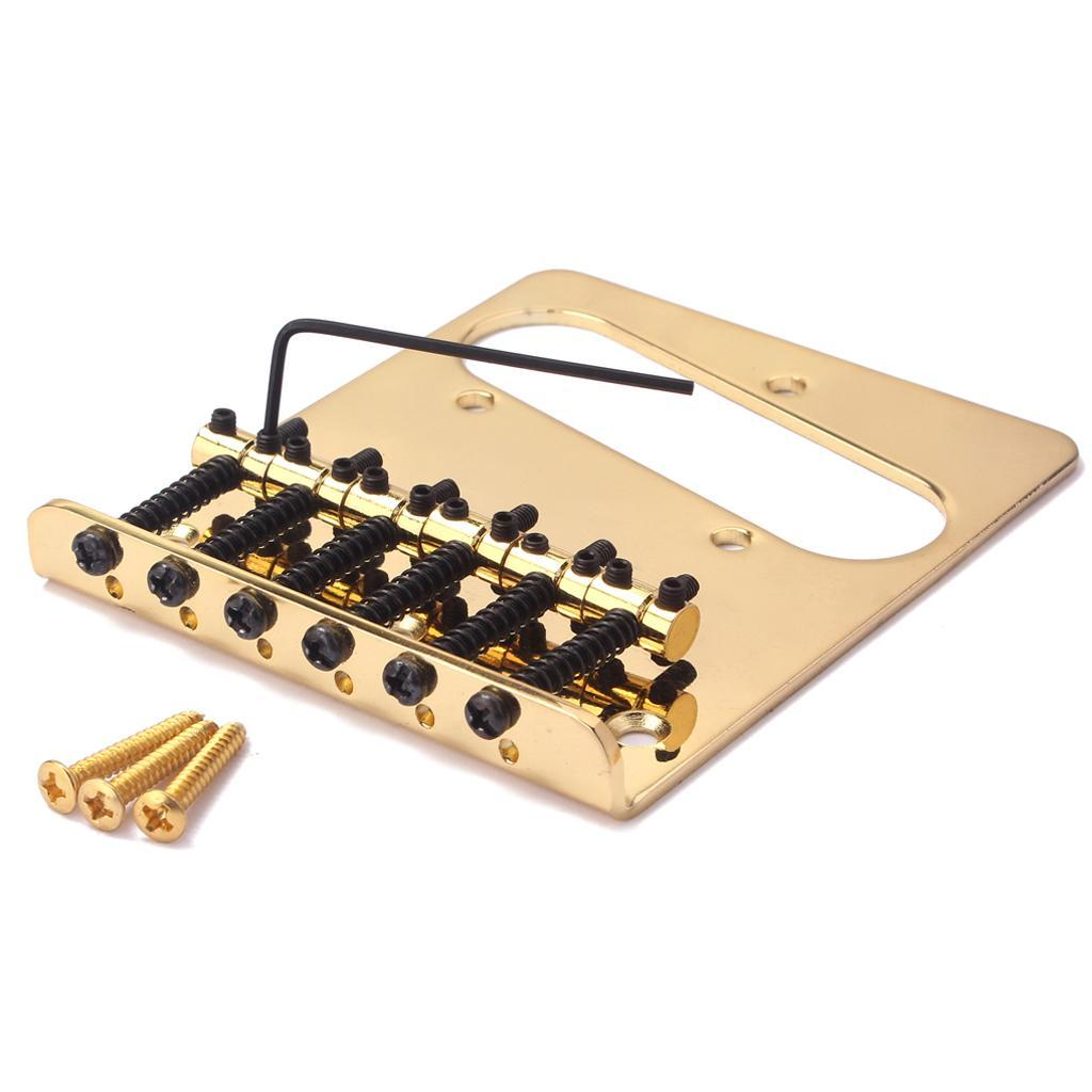 finest iron guitar bridge plate diy set for electric guitar accessory ebay. Black Bedroom Furniture Sets. Home Design Ideas