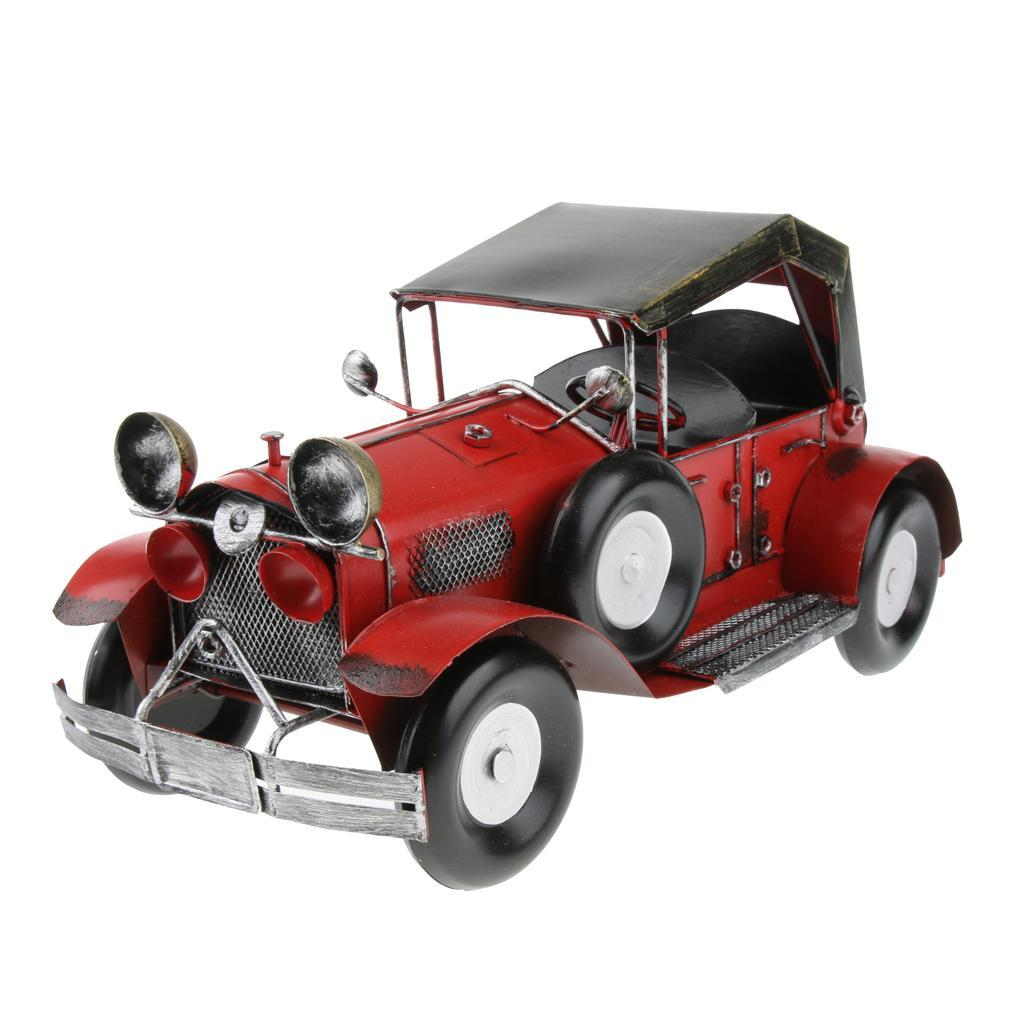 Retro-Style-Car-Model-Home-Bar-Cafe-Decoration-Collezioni-Regalo-speciale miniatura 16