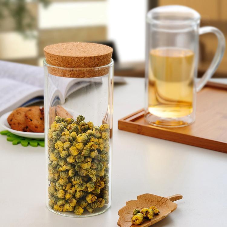 Boite En Verre Avec Couvercle Stockage Cuisine Pot De Conservation