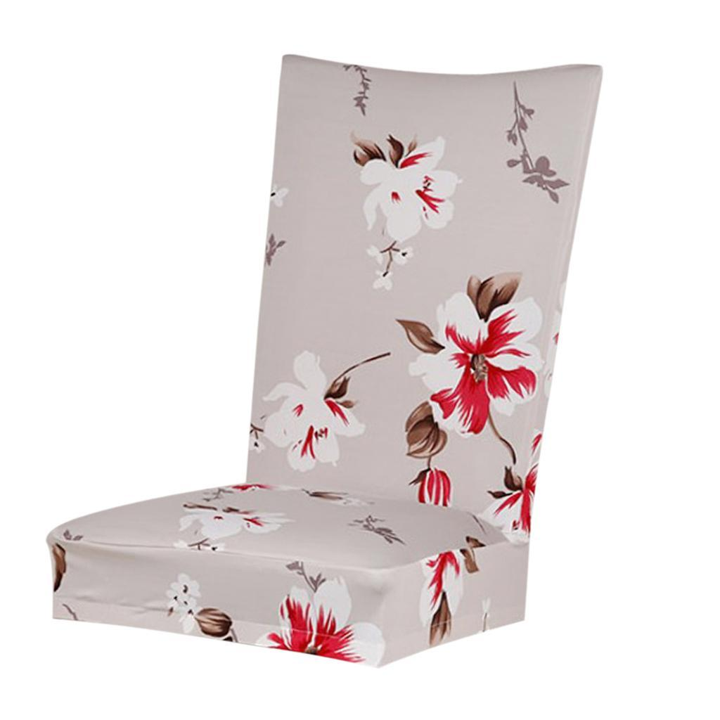 Dining-Room-Chair-Slipcover-Cover-Stretchy-amp-Washable-Wedding-Banquet-Decor thumbnail 4