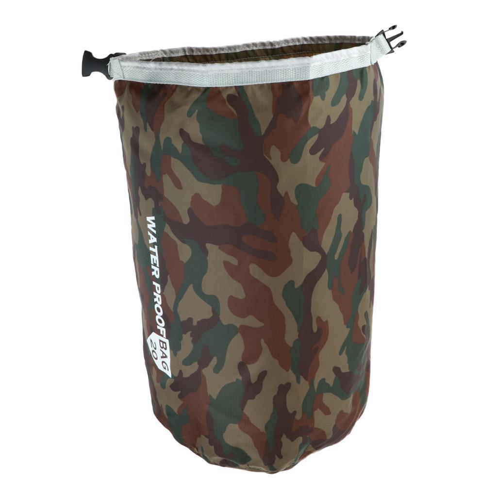 5L//10L//15L//20L Waterproof Bag Storage Dry Sack Bag For Canoe Kayak Rafting Bags